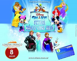 Lorena Franco EVT y Tarjeta CTAM te llevan a Disney on ice