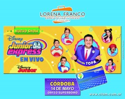 Lorena Franco EVT y Tarjeta CTAM te llevan a disfrutar Junior Express
